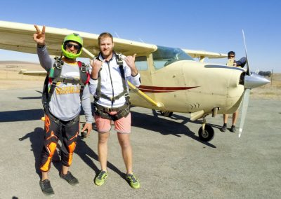 skydiving cape town
